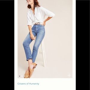 Anthroplogie Citizens of Humanity Jeans